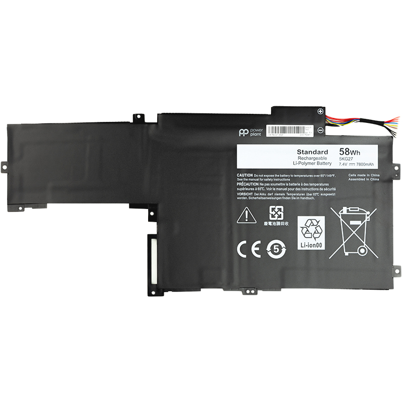 Купить Аккумулятор PowerPlant для ноутбуков DELL Inspiron 14 7000 Series (5KG27) 7.4V 58Wh