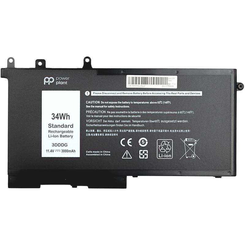 Купить Аккумулятор PowerPlant для ноутбуков DELL Latitude E5580 (3DDDG) 11.4V 3000mAh