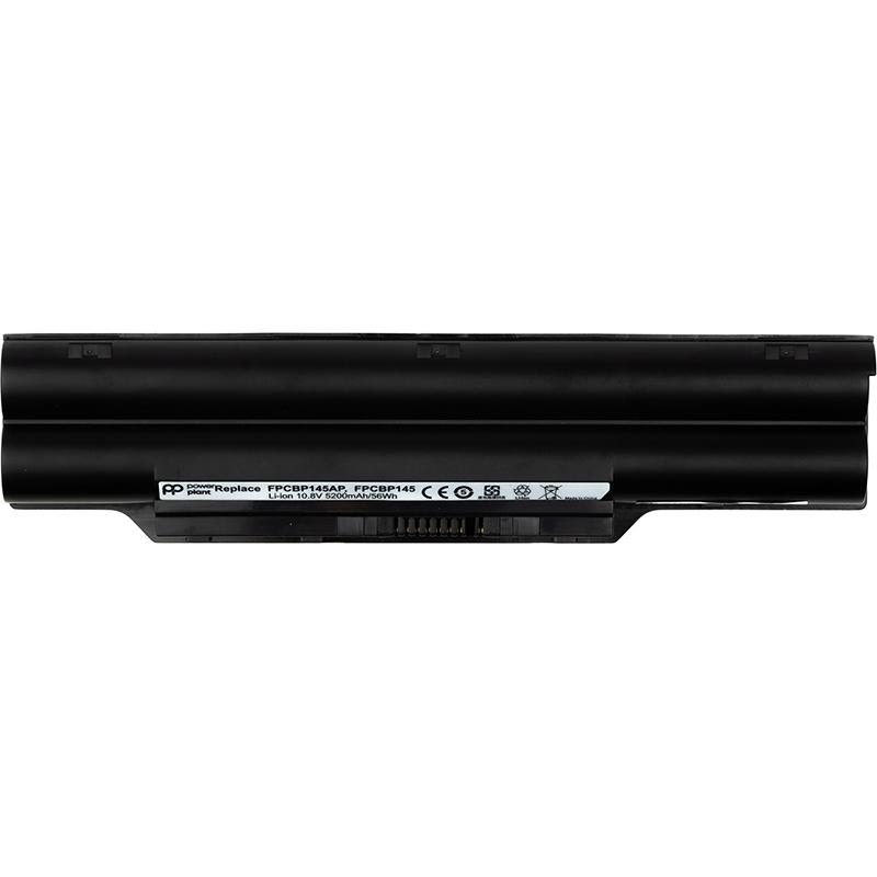 Купить Аккумулятор PowerPlant для ноутбуков FUJITSU LifeBook LH772 (FUH772LH, FPCBP145) 10.8V 5200mAh