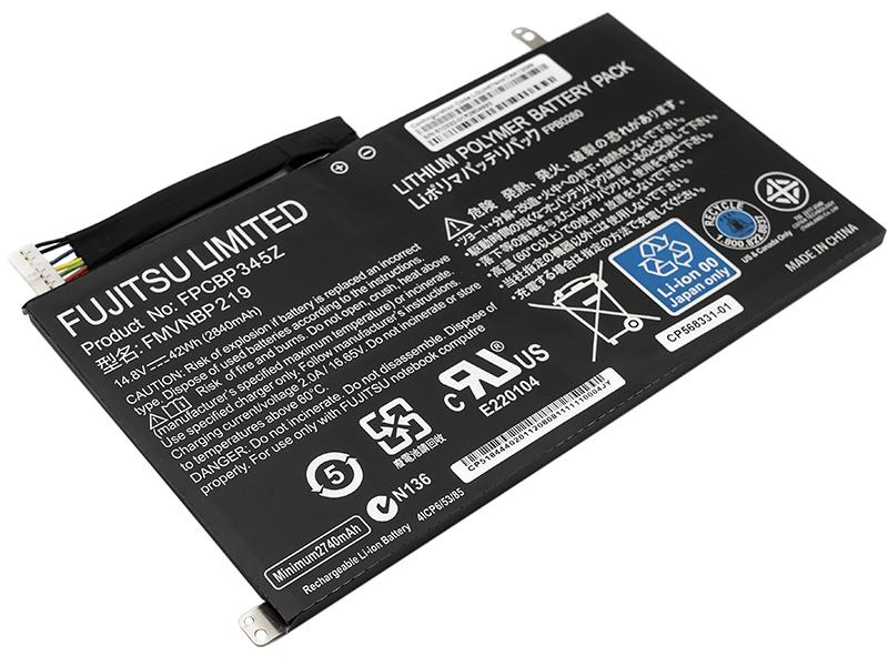 Купить Аккумулятор для ноутбуков FUJITSU LifeBook UH552, UH572 (FPCBP345Z) 14.8V 2840mAh (original)