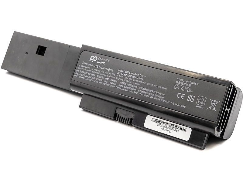 Купить Аккумулятор PowerPlant для ноутбуков HP Probook 4310s (HSTNN-DB91, HP4310LH) 14.4V 5200mAh