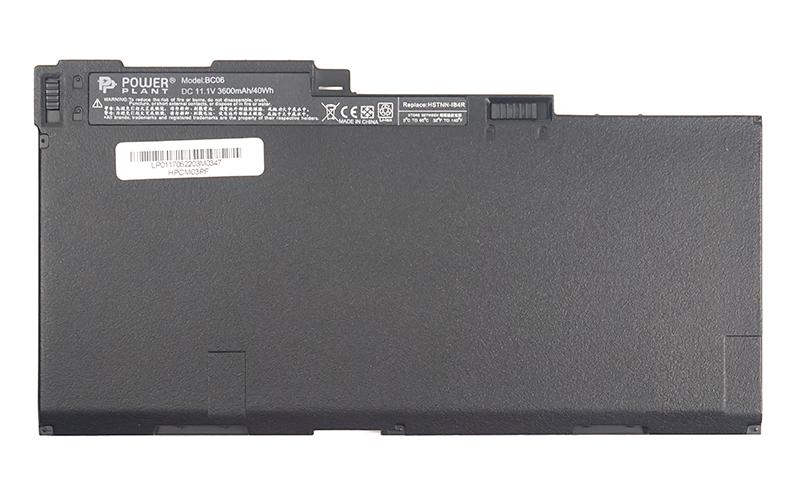 Купить Аккумулятор PowerPlant для ноутбуков HP EliteBook 740 Series (CM03, HPCM03PF) 11.1V 3600mAh