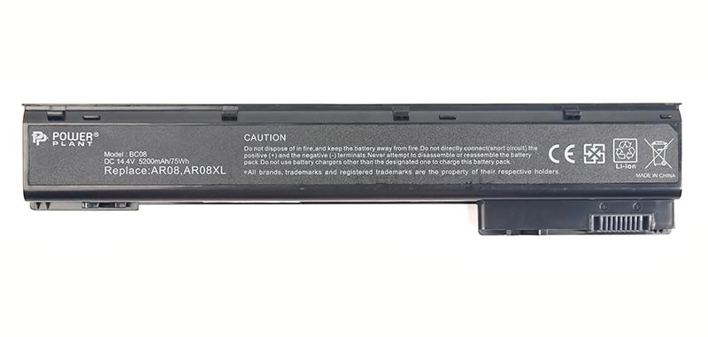 Купить Аккумулятор PowerPlant для ноутбуков HP ZBook 15 Series (AR08, HPAR08LH) 14.4V 5200mAh
