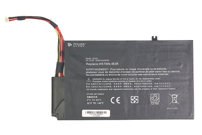 Купить Аккумулятор PowerPlant для ноутбуков HP Envy TouchSmart 4 (EL04XL, HPTS40PB) 14.8V 3200mAh