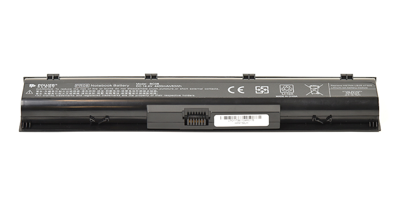 Купить Аккумулятор PowerPlant для ноутбуков HP ProBook 4730s (HP4730LH, HSTNN-IB2S) 14.4V 4400mAh