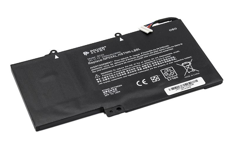 Купить Аккумулятор PowerPlant для ноутбуков HP Pavilion X360  (NP03XL, HPNP03PB) 11.1V 3200mAh