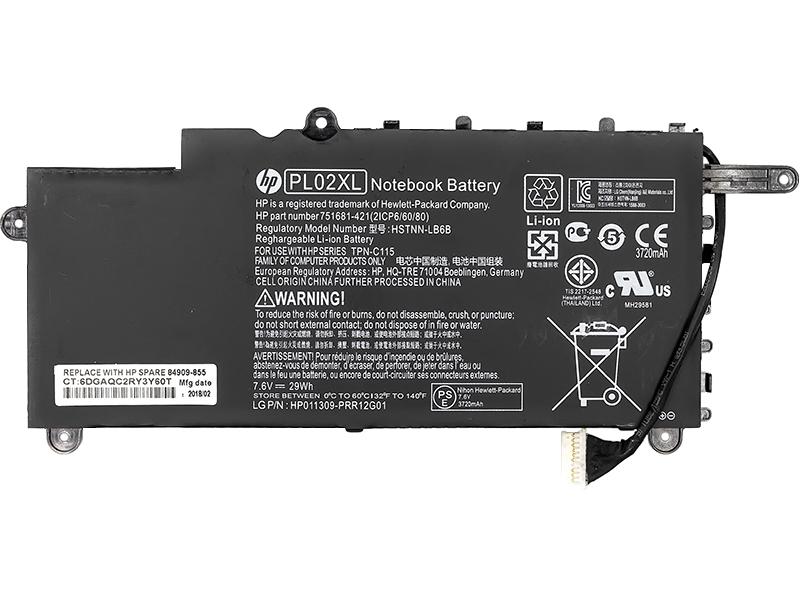 Купить Аккумулятор для ноутбуков HP Pavilion 11-N X360 (HSTNN-LB6B) 7.6V 29Wh (original)
