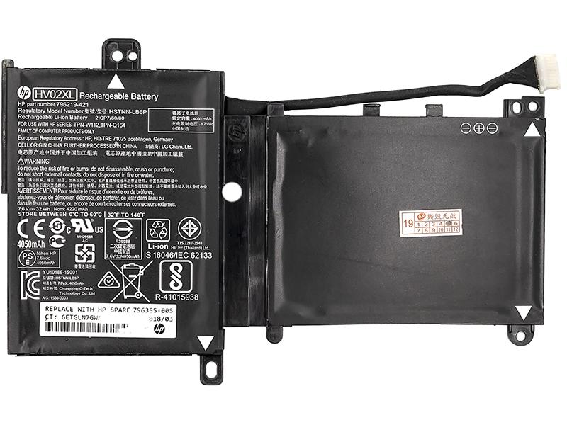 Купить Аккумулятор для ноутбуков HP Pavilion X360 11-K (HV02XL) 7.6V 32Wh (original)
