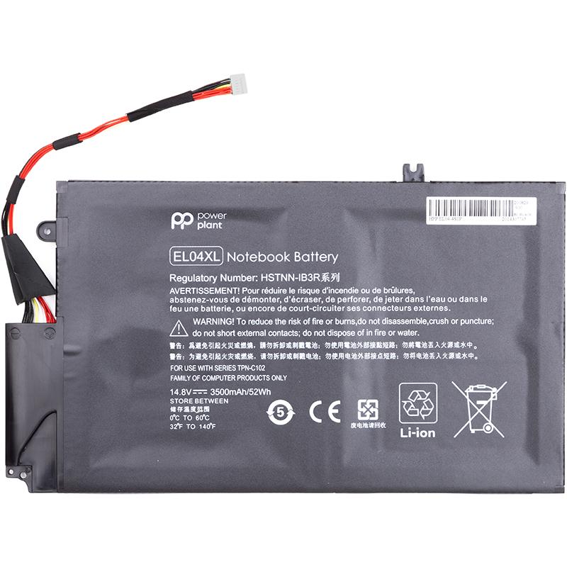 Купить Аккумулятор для ноутбуков HP Envy Ultrabook 4-1150ez (EL04XL) 14.8V 52Wh (original)