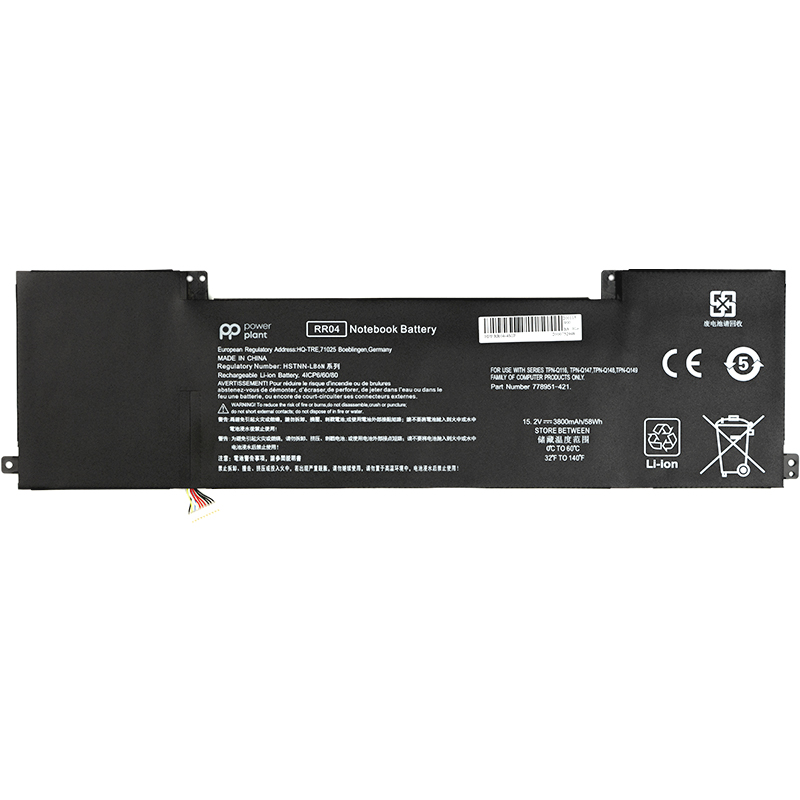 Купить Аккумулятор PowerPlant для ноутбуков HP Omen 15 15-5014TX (RR04) 15.2V 58Wh