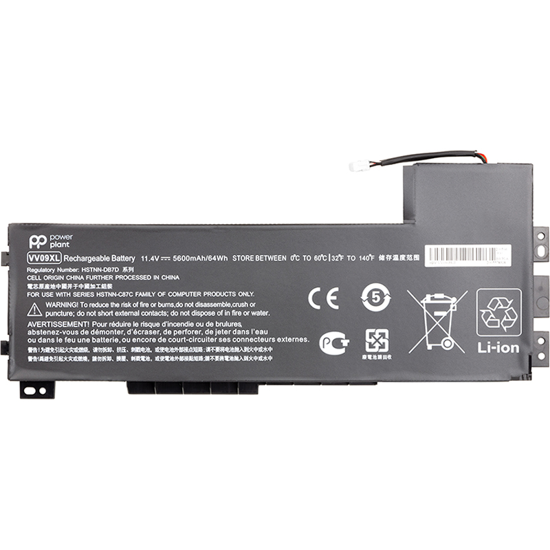Купить Аккумулятор PowerPlant для ноутбуков HP ZBook 15 G3 (VV09XL) 11.4V 5600mAh