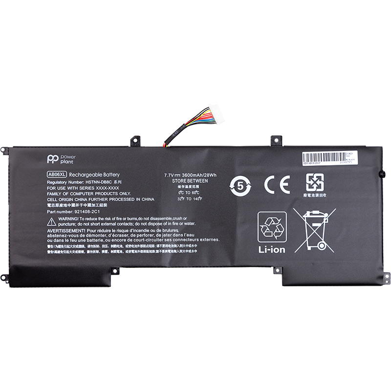 Купить Аккумулятор PowerPlant для ноутбуков HP Envy 13 2017 Series (AB06XL) 7.7V 3600mAh