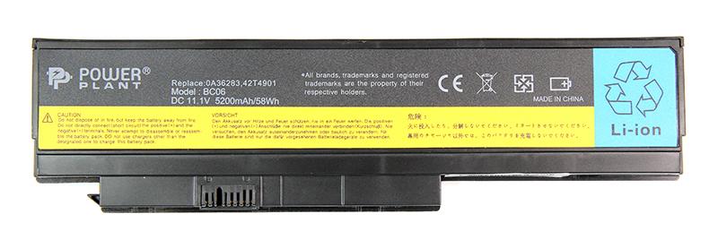 Купить Аккумулятор PowerPlant для ноутбуков IBM/LENOVO ThinkPad X230 (0A36281) 11.1V 5200mAh