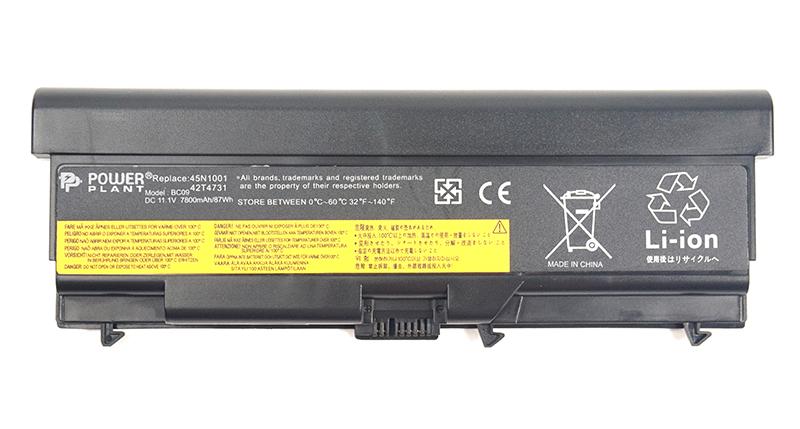 Купить Аккумулятор PowerPlant для ноутбуков IBM/LENOVO ThinkPad T430 (42T4733, LOT430LP) 11.1V 7800mAh