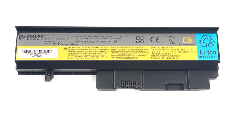 Купить Аккумулятор PowerPlant для ноутбуков IBM/LENOVO Ideapad Y330 (LO8S6D11, LOY330LH) 11.1V 5200mAh