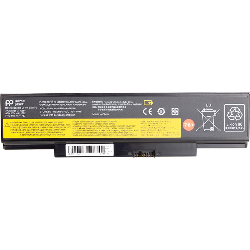 Купить Аккумулятор PowerPlant для ноутбуков LENOVO ThinkPad E560 Series (45N1758) 10.8V 4400mAh