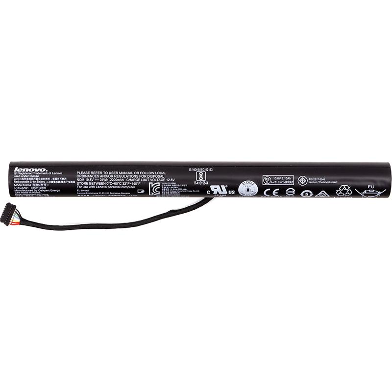 Купить Аккумулятор для ноутбуков IBM/LENOVO Ideapad 100-15 (L14C3A01) 12.6V 2150mAh (original)