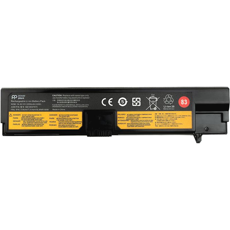 Купить Аккумулятор PowerPlant для ноутбуков Lenovo Thinkpad E570 (01AV417) 14.4V 2200mAh