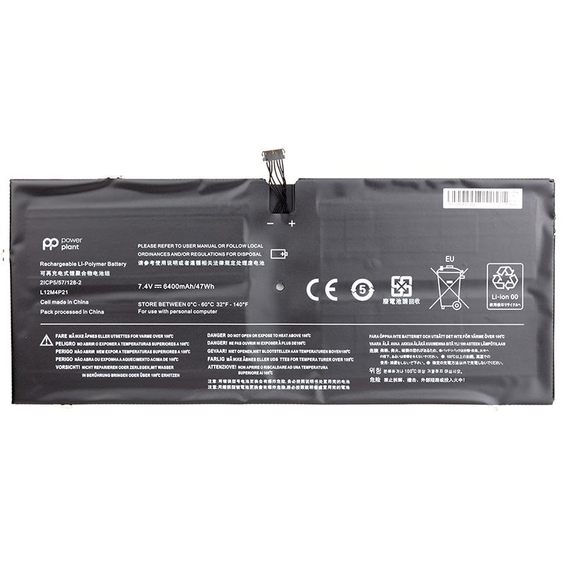 Купить Аккумулятор PowerPlant для ноутбуков Lenovo Yoga 2 Pro 13 Series (L12M4P21) 7.4V 6400mAh