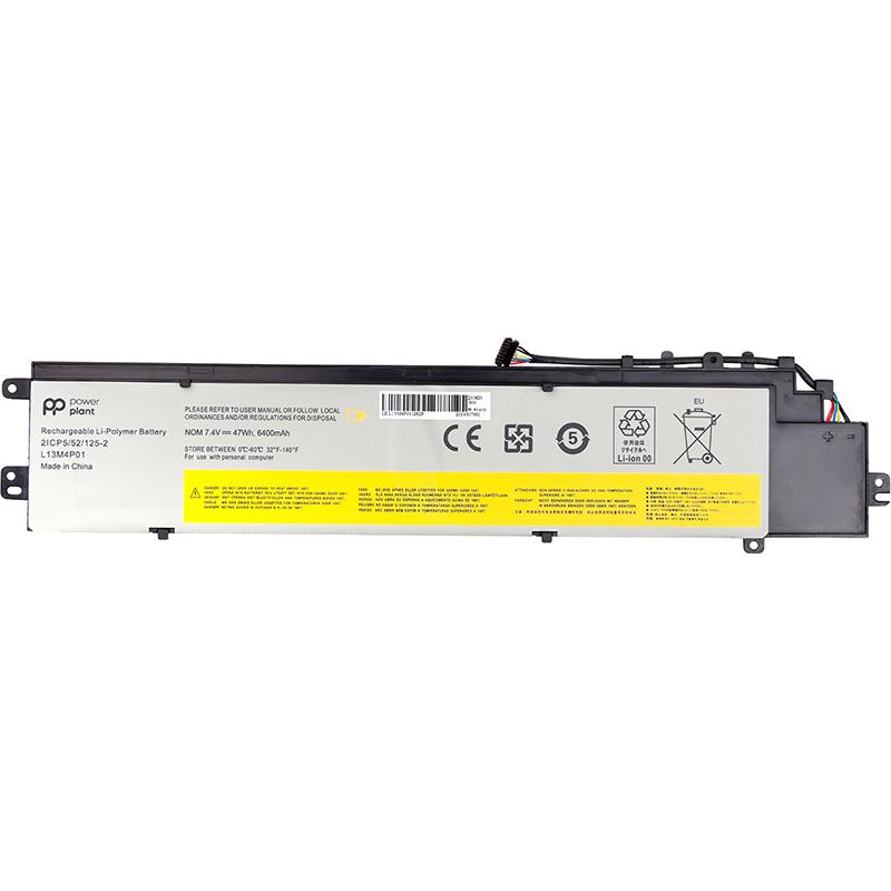 Купить Аккумулятор PowerPlant для ноутбуков LENOVO Erazer Y40-70 (L13M4P01) 7.4V 6400mAh