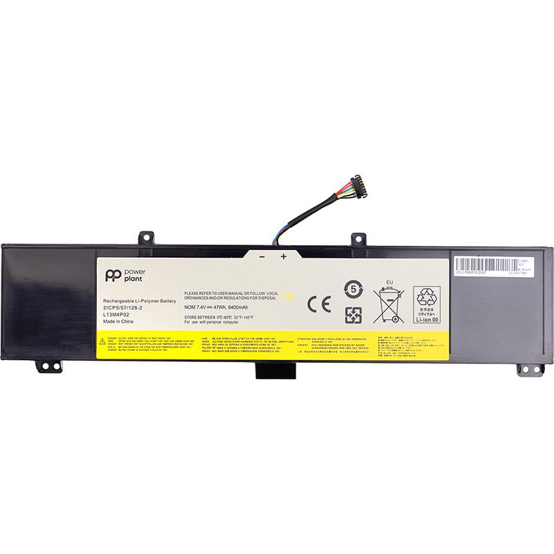 Купить Аккумулятор PowerPlant для ноутбуков LENOVO Erazer Y50 (L13M4P02) 7.4V 6400mAh