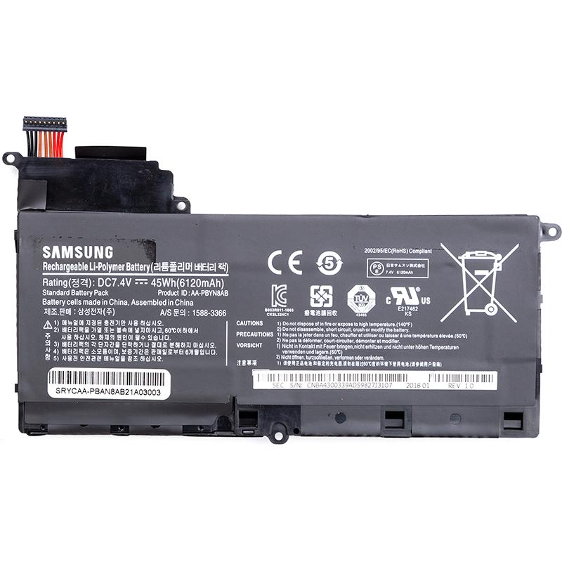 Купить Аккумулятор для ноутбуков SAMSUNG NP530U4B Series (AA-PBAN8AB) 7.4V 6120mAh (original)