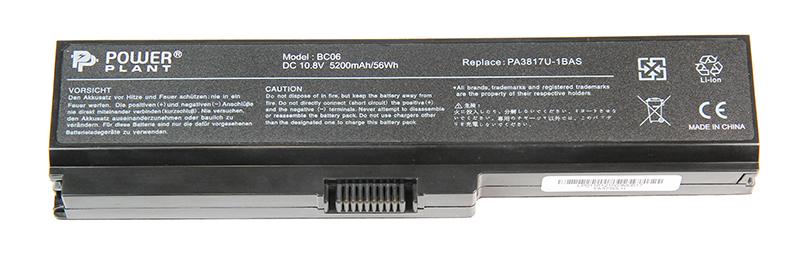 Купить Аккумулятор PowerPlant для ноутбуков TOSHIBA Satellite L750 (PA3817U-1BAS) 10.8V 5200mAh