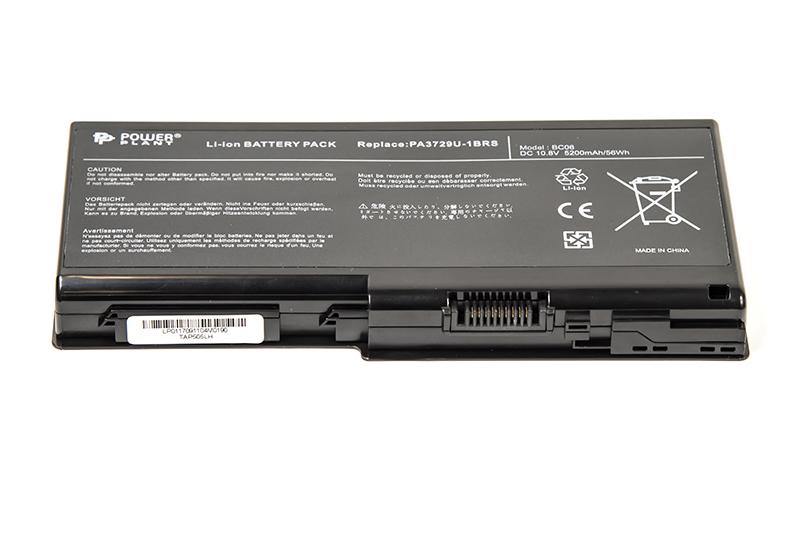 Купить Аккумулятор PowerPlant для ноутбуков TOSHIBA Satellite P505 (PA3729U-1BRS, TAP505LH) 10.8V 5200mAh