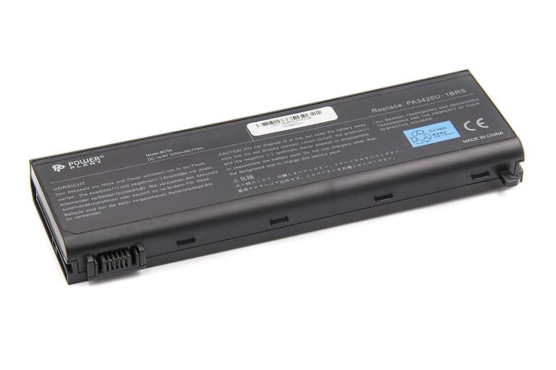 Купить Аккумулятор PowerPlant для ноутбуков TOSHIBA Satellite L10 (PA3420U-1BAC,TA3420LH) 14.8V 5200mAh