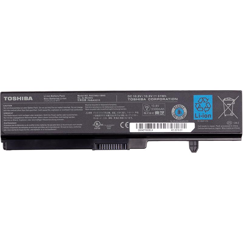Купить Аккумулятор для ноутбуков TOSHIBA Satellite T130 (PA3780U-1BRS, TA3780LH) 10.8V 5300mAh (original)