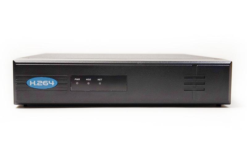 Купить Видеорегистратор IP 4 канала NVR4104-4PECO