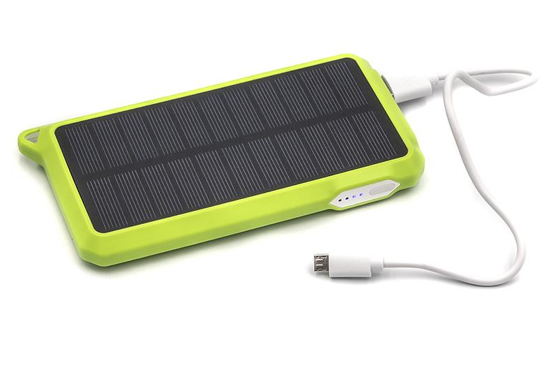 Купить Универсальная cолнечная мобильная батарея PowerPlant/PB-SS002/10000mAh/green