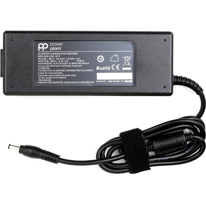 Купить Блок питания для ноутбуков PowerPlant PANASONIC 220V, 15.6V 125W 8A (5.5*2.5)