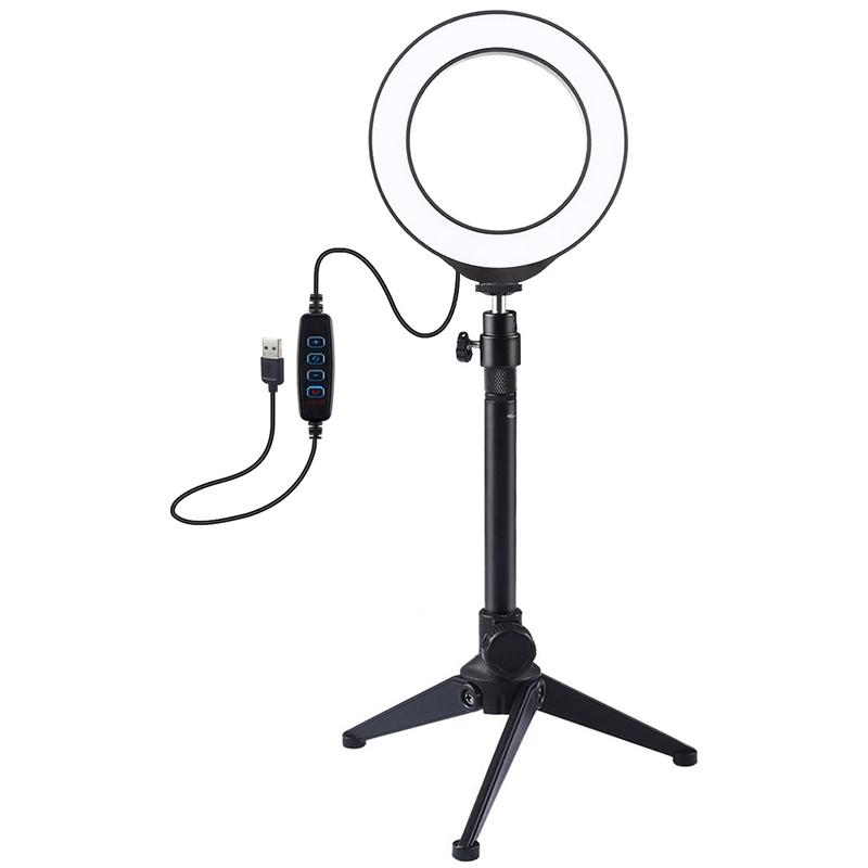 Купить Кольцевая USB LED лампа Puluz PKT3031 4.7