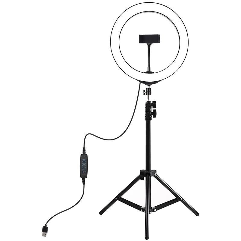 Купить Кольцевая USB LED лампа Puluz PKT3035 10