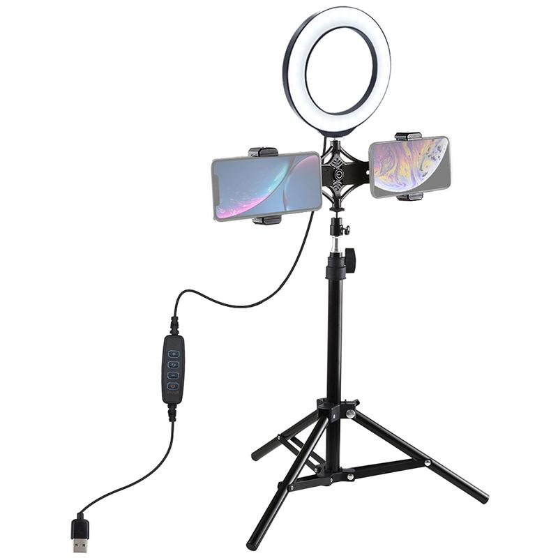 Купить Кольцевая USB LED лампа Puluz PKT3037 6.2