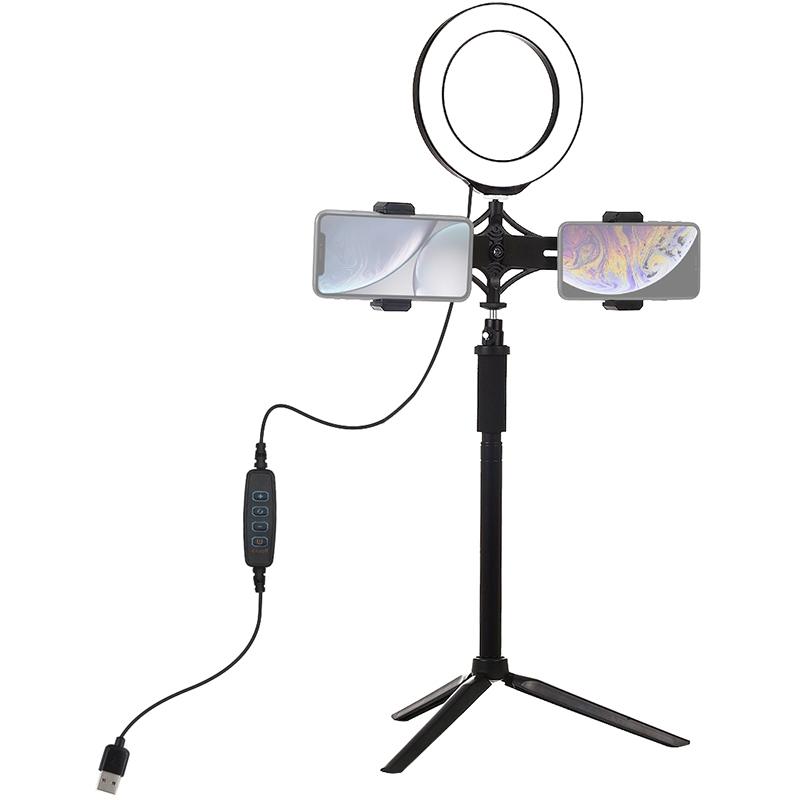 Купить Кольцевая USB LED лампа Puluz PKT3038 6.2