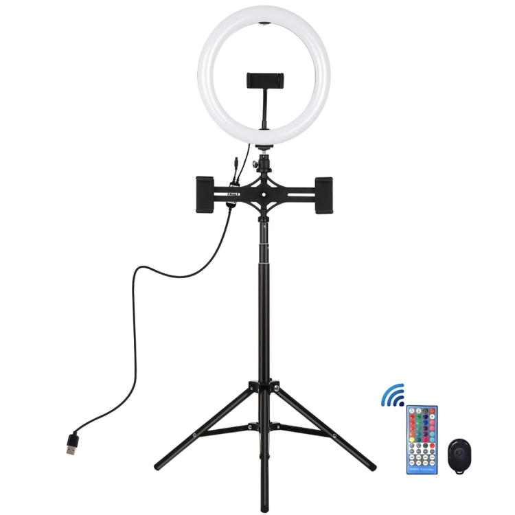 Купить Кольцевая USB RGBW LED лампа Puluz PKT3055B 10.2