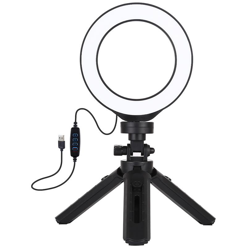 Купить Кольцевая USB LED лампа Puluz PKT3058B 4.7