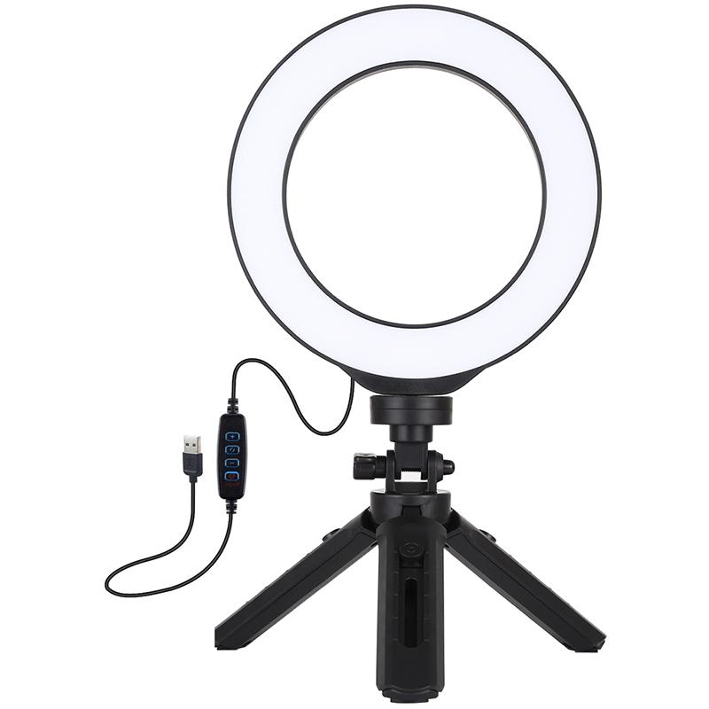 Купить Кольцевая USB LED лампа Puluz PKT3059B 6.2