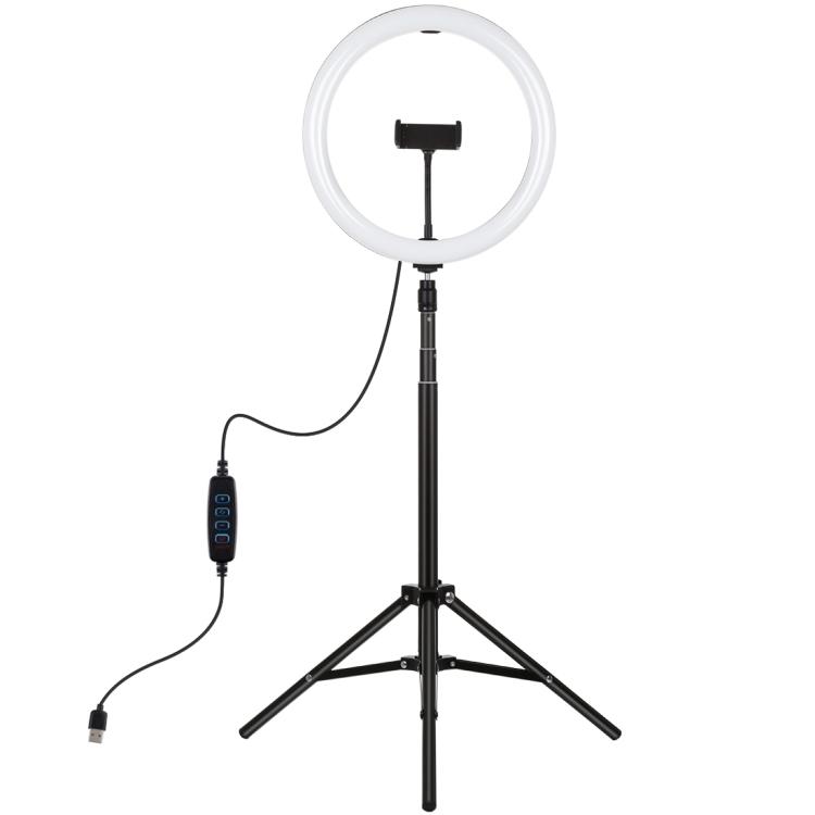 Купить Кольцевая USB LED лампа Puluz PKT3061B 11.8