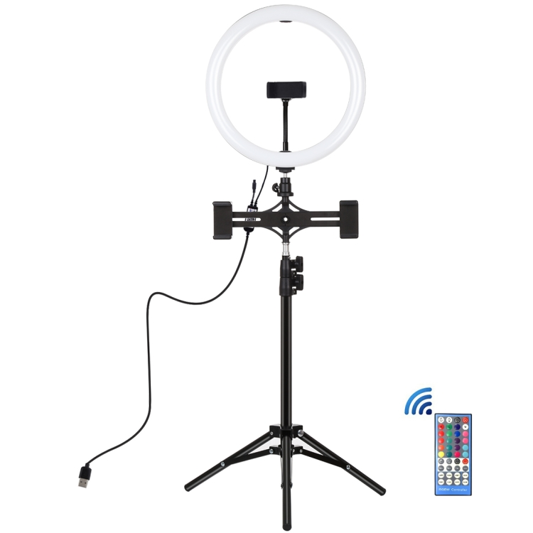 Купить Кольцевая USB LED лампа Puluz PKT3068B 11.8