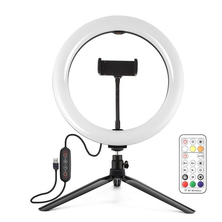 Купить Кольцевая USB LED лампа Puluz PKT3082B 10