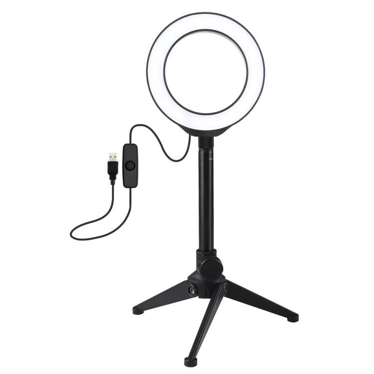 Купить Кольцевая USB LED лампа Puluz PKT3084B 4.7
