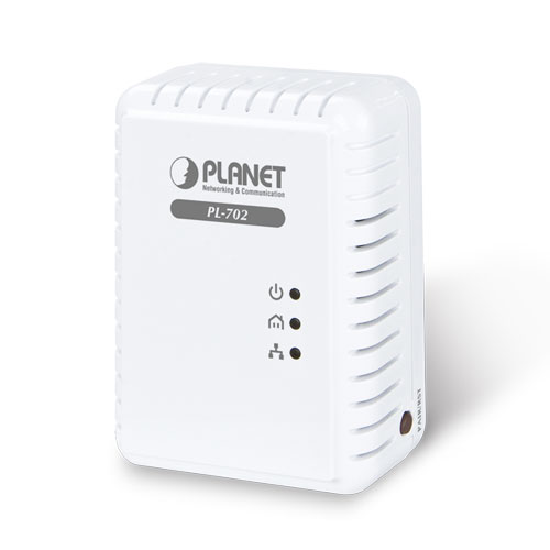 Купить Интернет мост Planet PL-702 (Nano Powerline Ethernet Bridge ,500Mbps, 300 meters,220v)