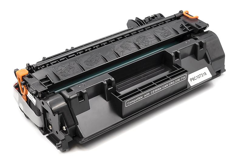 Купить Картридж PowerPlant HP LJ P2050, Canon MF5850dn (CE505A, CRG-119) (с чипом)