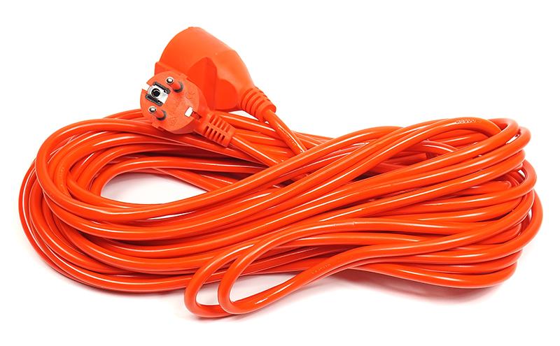 Купить Удлинитель PowerPlant 15 м, 3x1.0мм2, 8А (JY-3024/15)