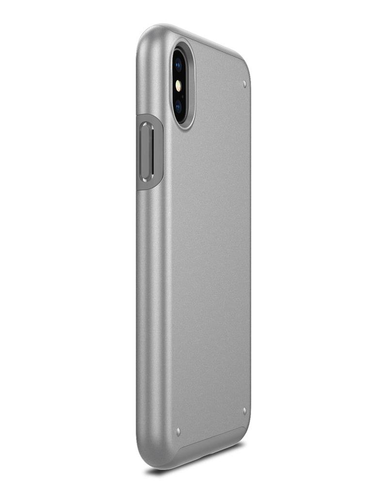 Купить Чехол Patchworks Chroma для iPhone X, серебристый