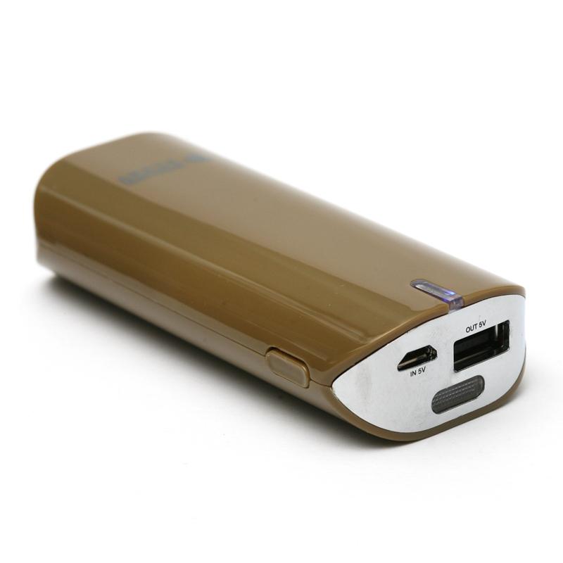 Купить Универсальная мобильная батарея PowerPlant/PB-LA9005/5200mAh/универсальный кабель