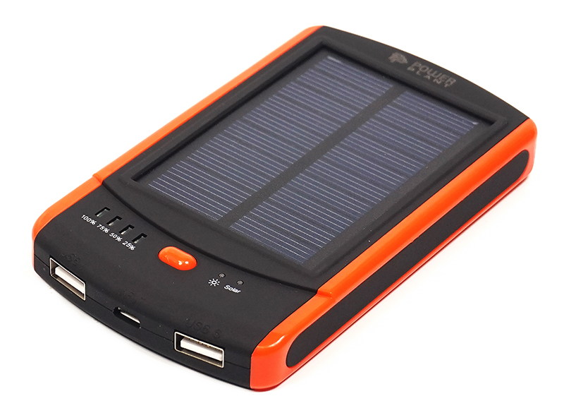 Купить Универсальная солнечная мобильная батарея PowerPlant/PPLA9263/8000mAh/